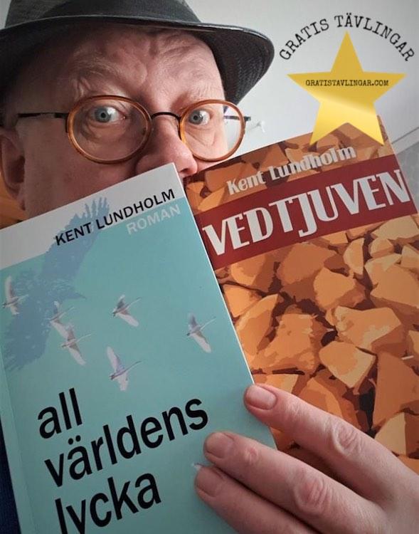 RomanerTvå romaner Vedtjuven och All världens lycka av Kent Lundholm